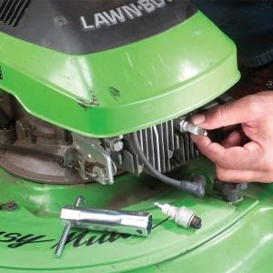 install new spark plug wire