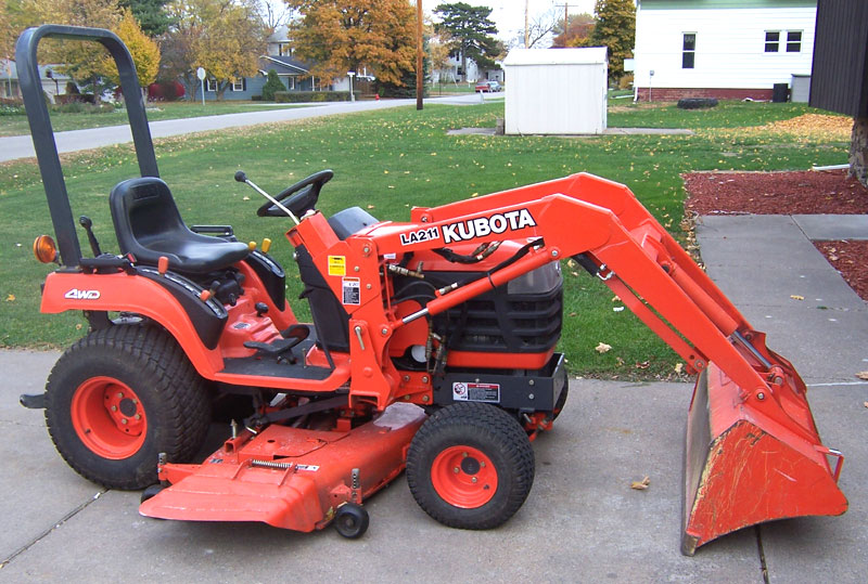Kubota Mower Accessories : Riding mower lawn tractor or garden lawneq