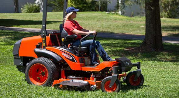Kubota ZD1500 riding lawn mower.
