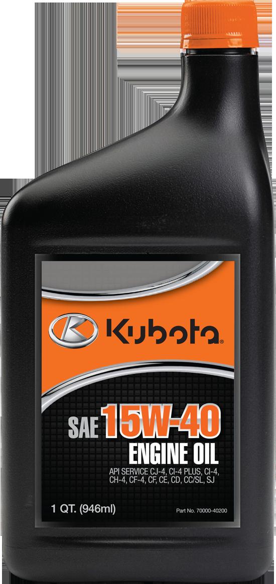 Kubota Also Offers Lubricants Lawneq Blog
