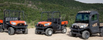 Kubota's RTV-X Series of ATVs.