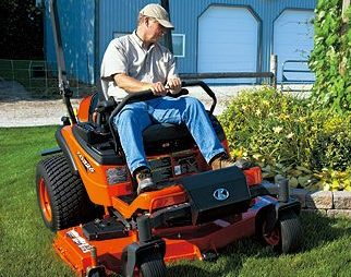 Kubota Series ZD mower