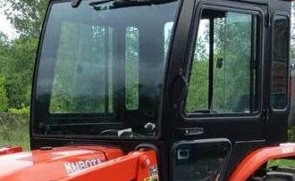 There are many cab styles available for your Kobuta tractor. (Courtesy: Kubota)