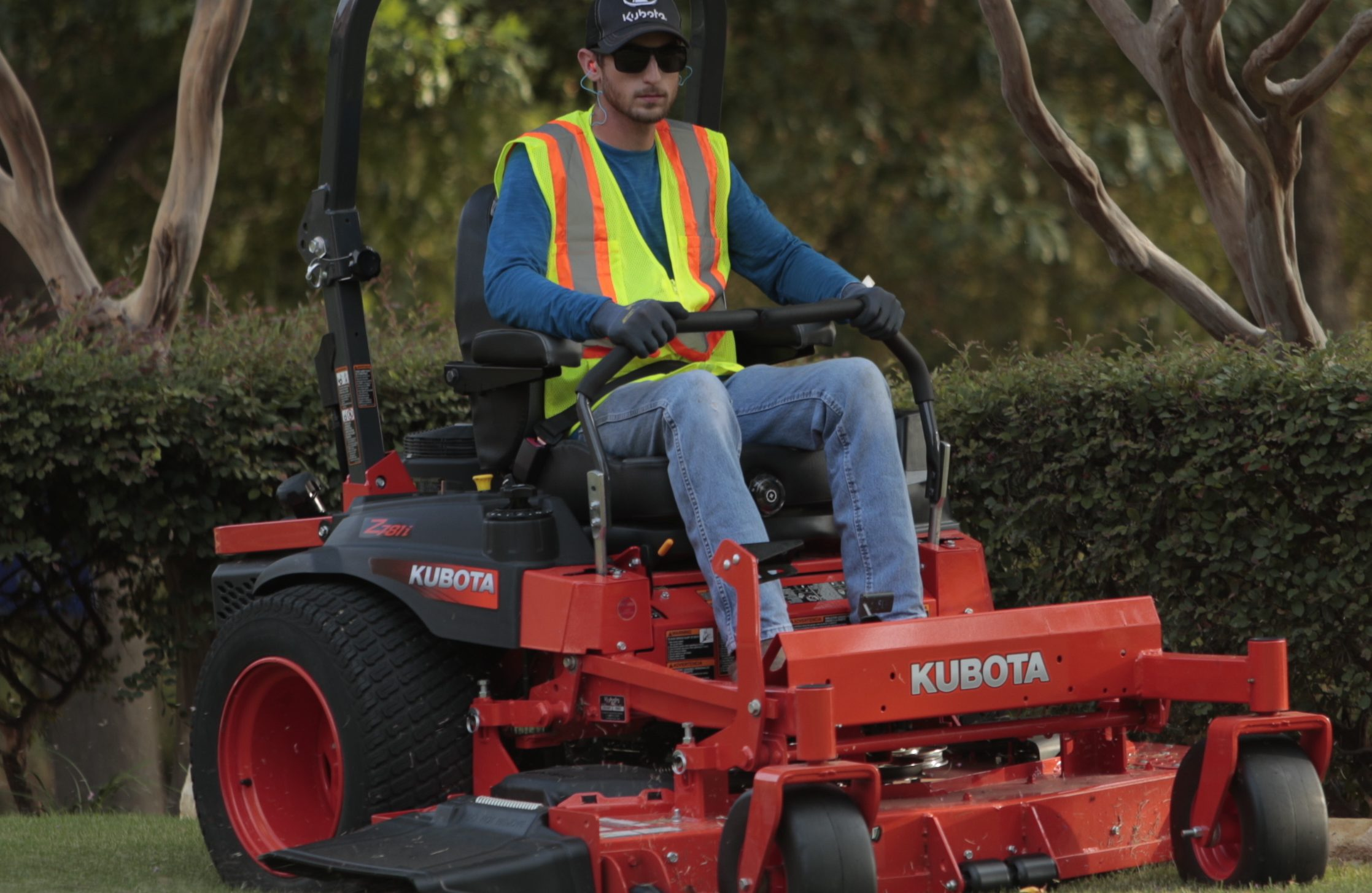 Kubota introduces three new models in the Z700 series zero turn lawn mowers. (Courtesy: Kubota Tractor)