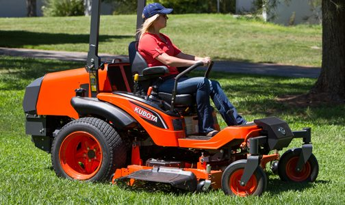 Kubota ZD series lawn mower. (Courtesy: Kubota)