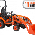 Kubota Offers Four Subcompact Tractors