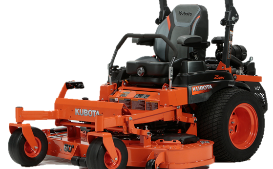 The Kubota Z700 Series lawn mower.
