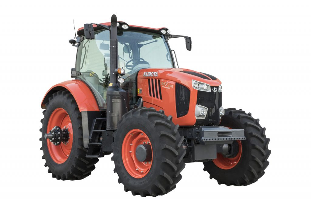 Kubota's M7 Series Gen 2 Tractor